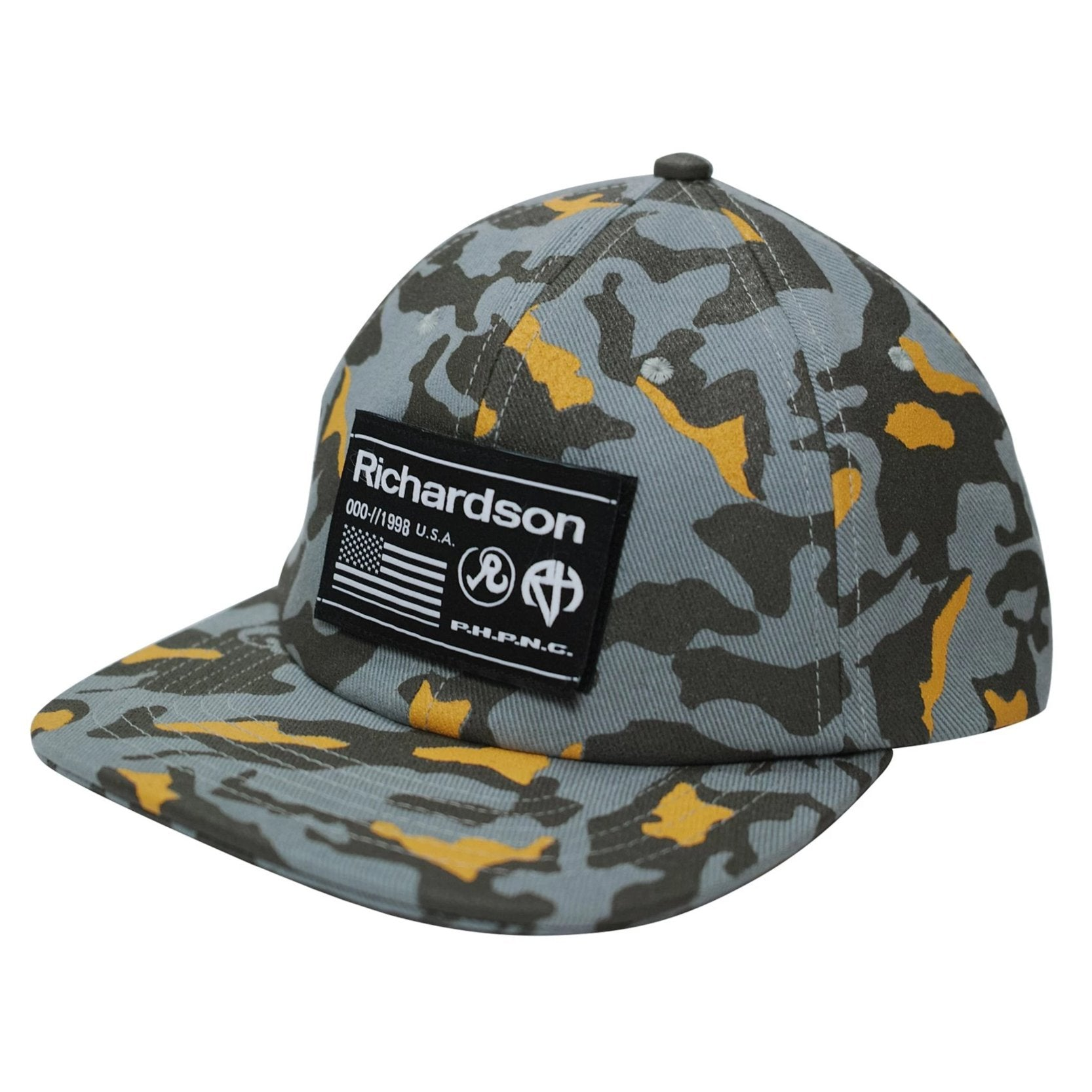 Richardson Camo Cap (Blue-Grey)