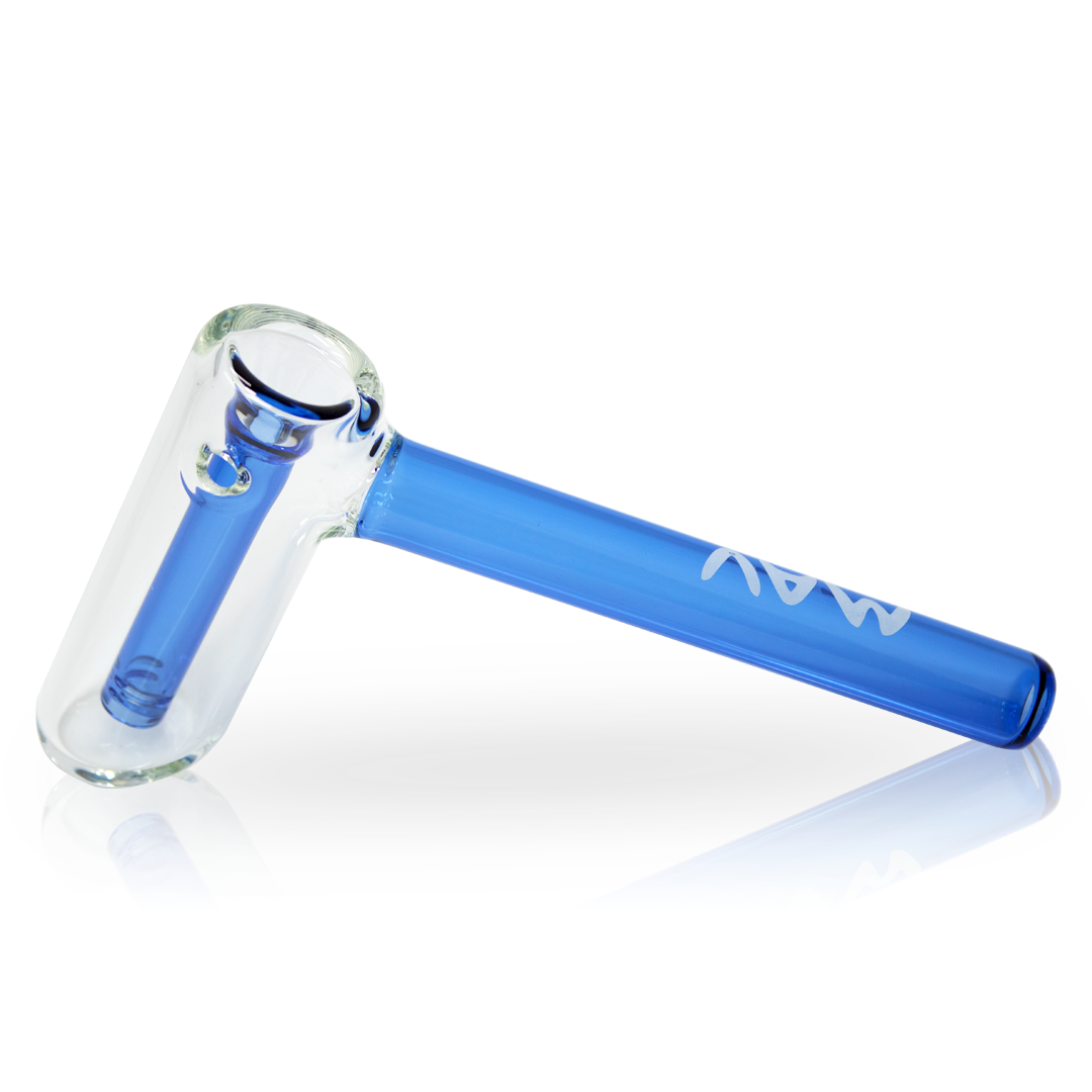 Mav Glass Hammer Bubbler (Blue)