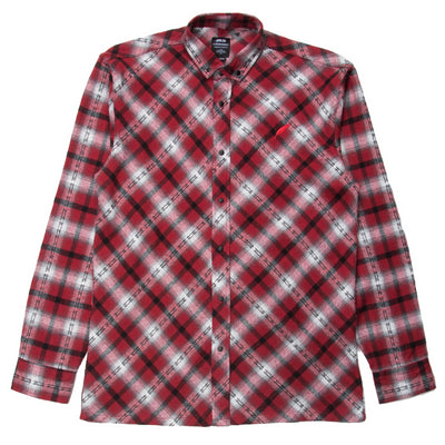 Eldered Button Up (Red)