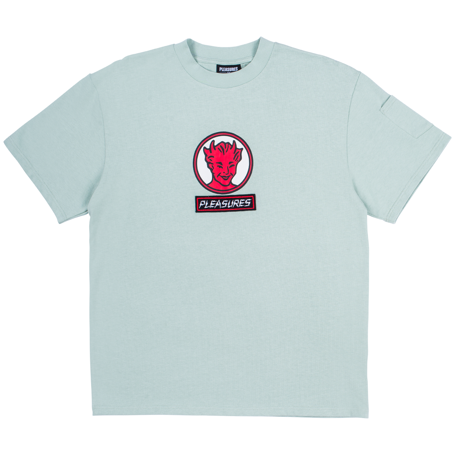 Pleasures Hot Stuff Heavyweight Shirt (Mint)