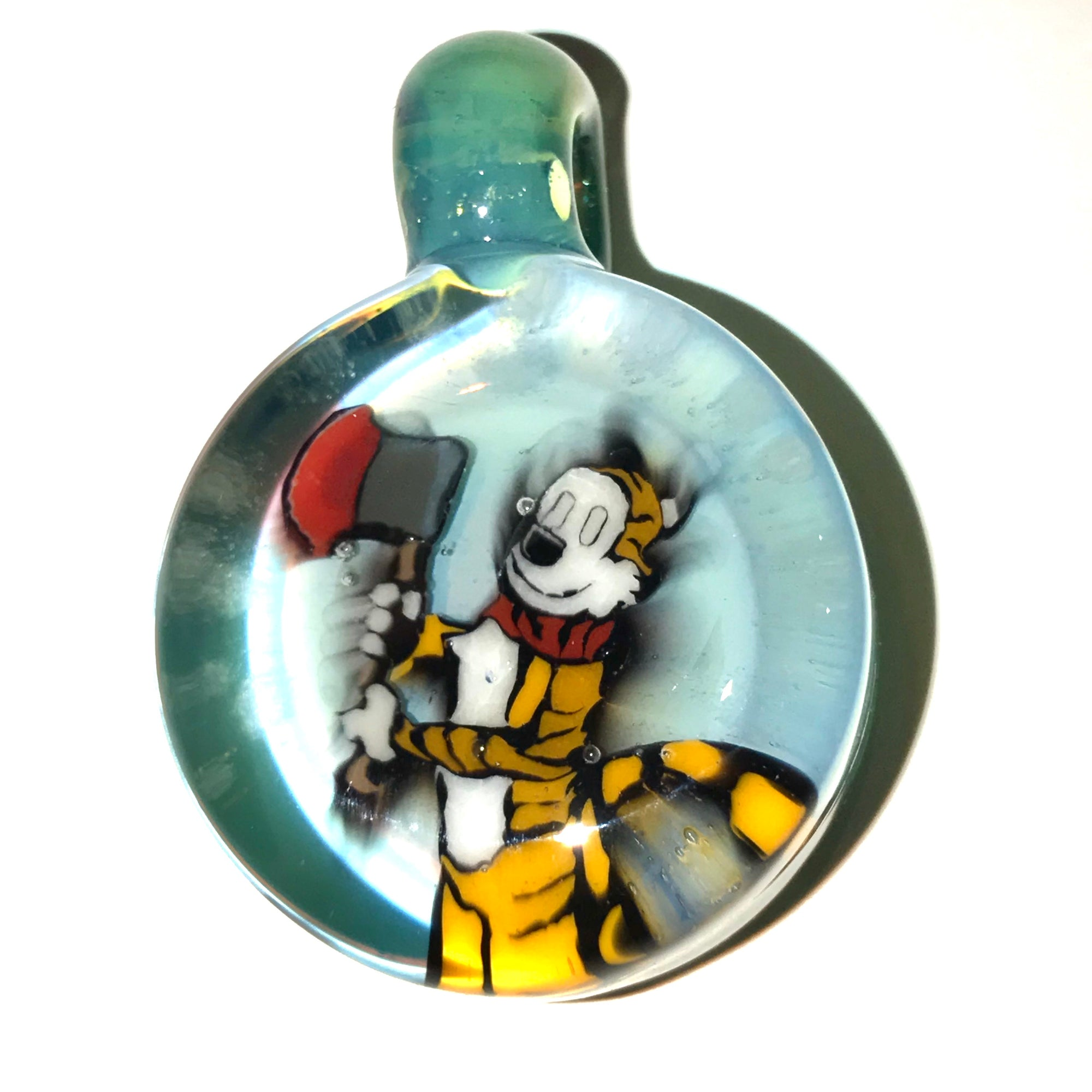 Calvin and Hobbes Milli Pendant (Satin Slyme)