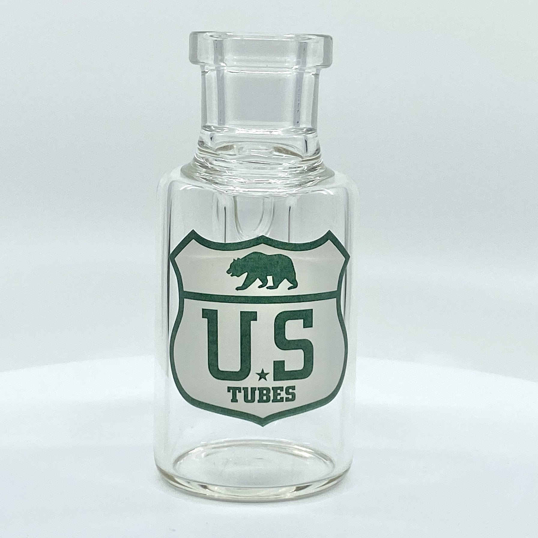 US TUBES 19mm 45 Degree Dry Catcher (White/Aqua HWY Decal) s