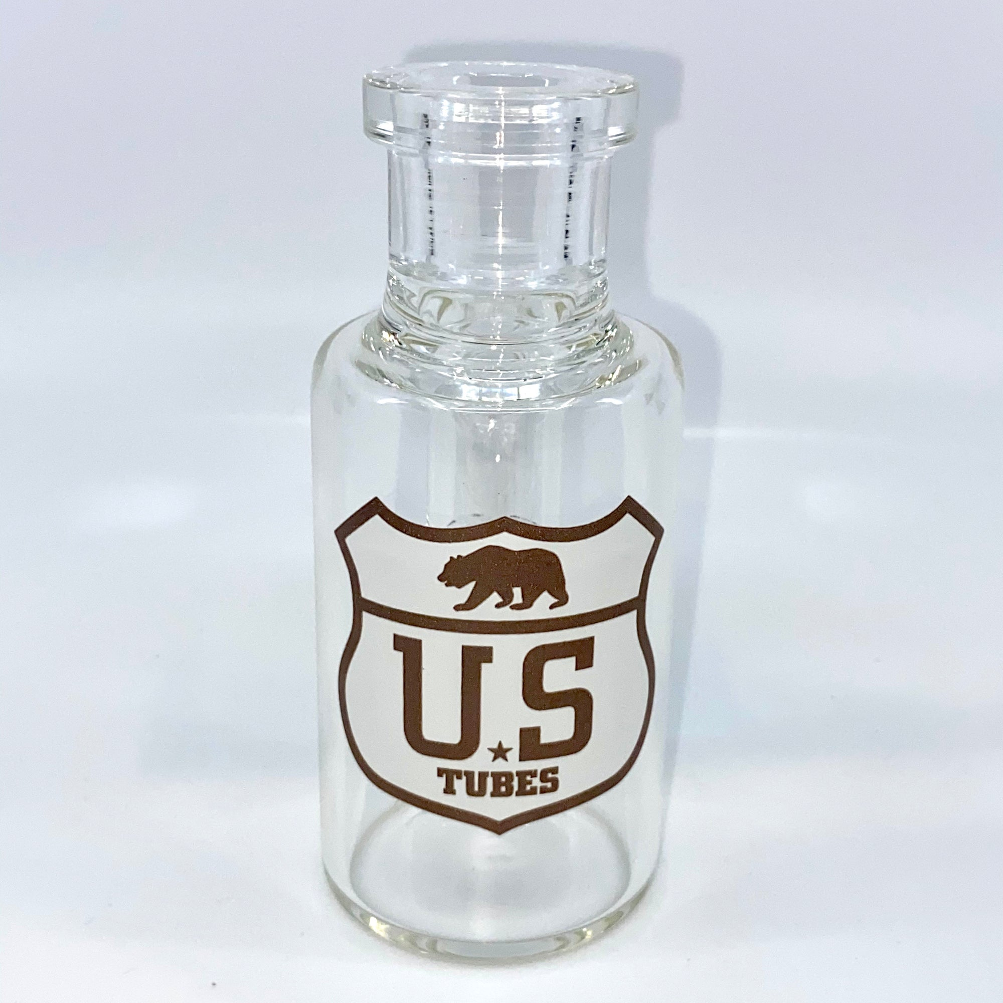 US TUBES 19mm 45 Degree Dry Catcher (White/Amber HWY Decal) s