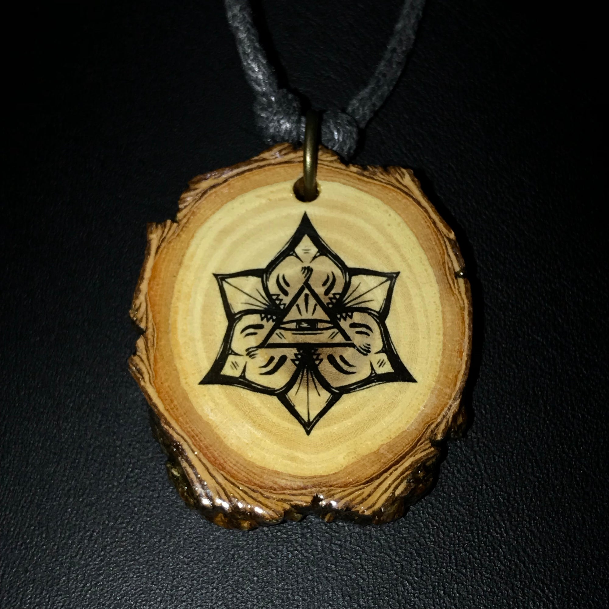 Oak Branch Pendant Colab (Handmade in Canada)
