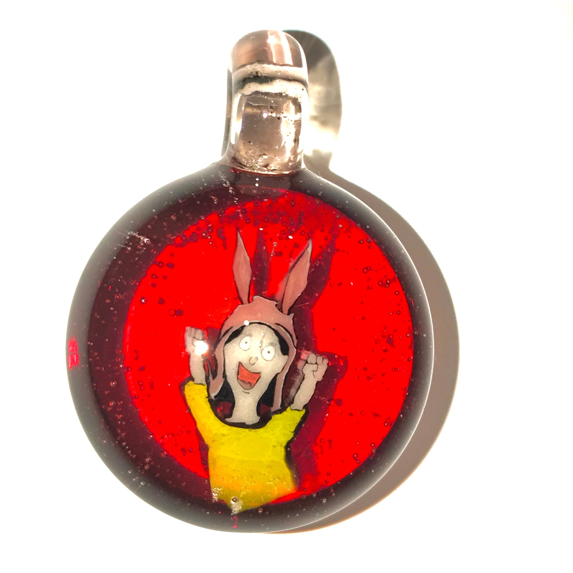 Louise From Bobs Burgers Milli Pendant (Pomegranate/Serum)