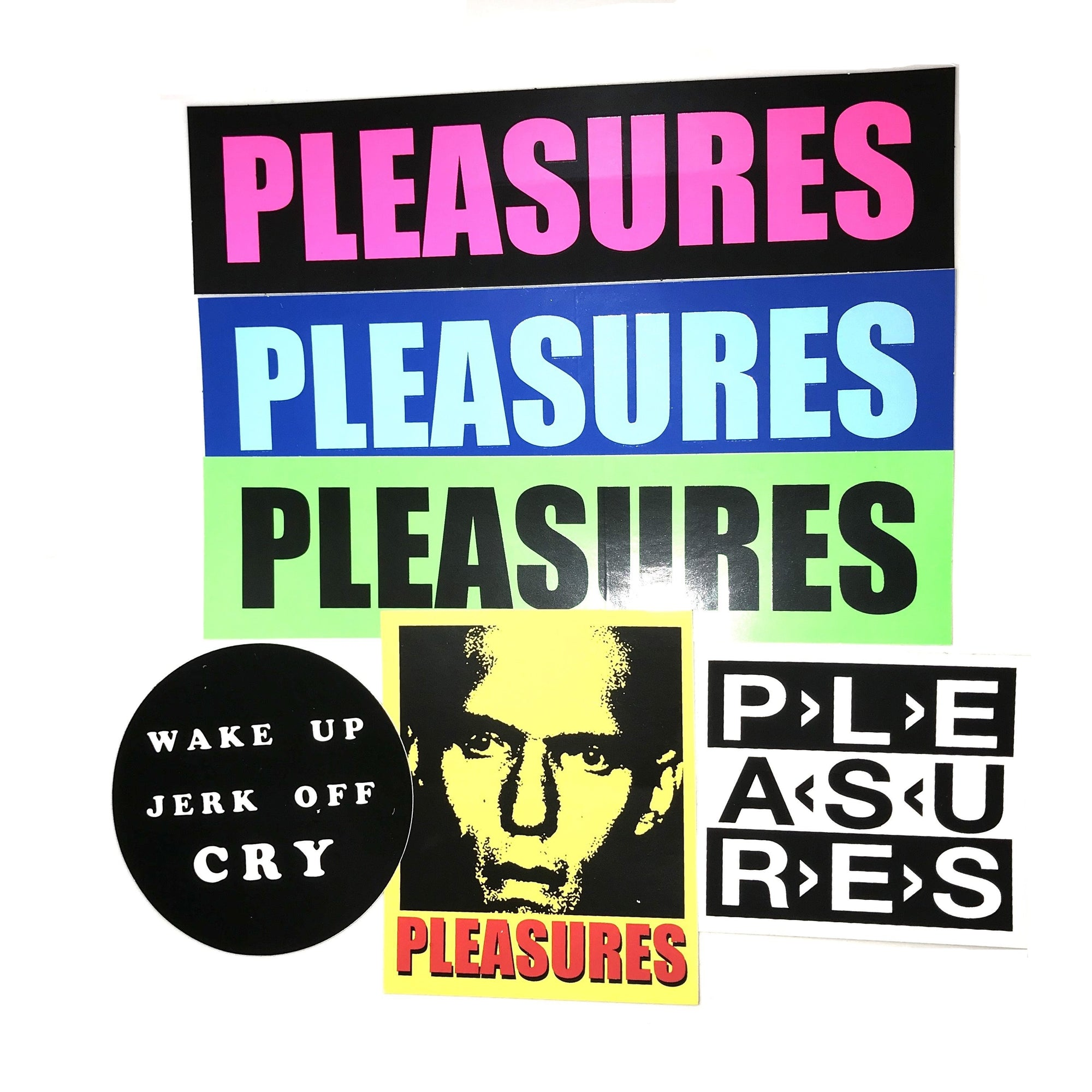 Pleasures Winter 2019 Sticker Pack