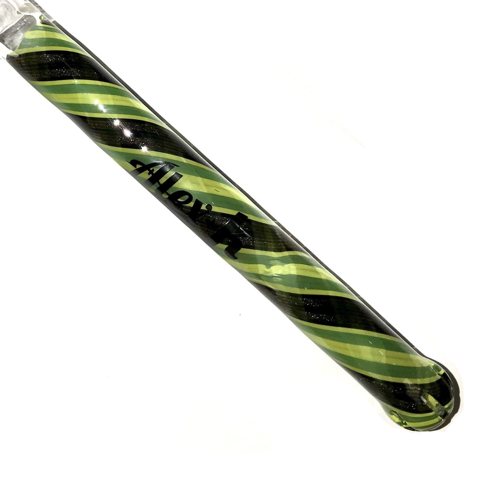 Alex K Glass Showerhead Downstem Color 18/18mm (Lemon / Lime / Steel Wool)