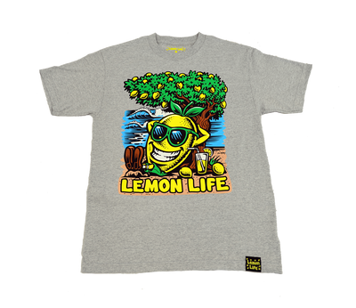 Life's a Beach T-Shirt - Lemon Tree