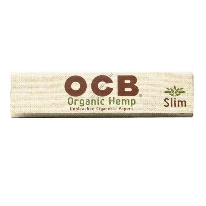 OCB Organic Hemp Slim Papers (2 3/4 King Size Slim)