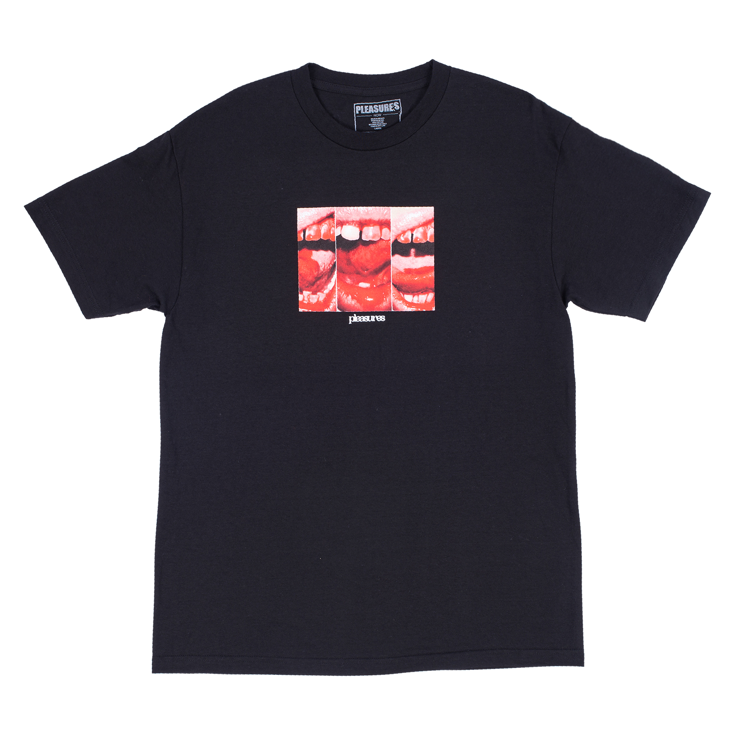 Mouth Off Short Sleeve Shirt (Black)