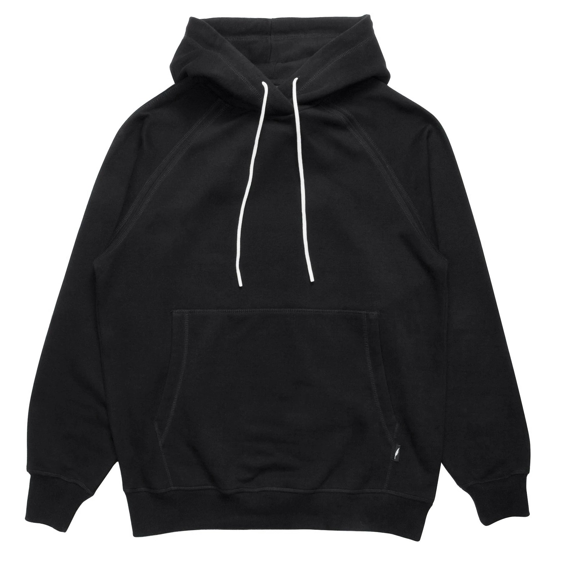 Index Fleece Hoodie (Black)