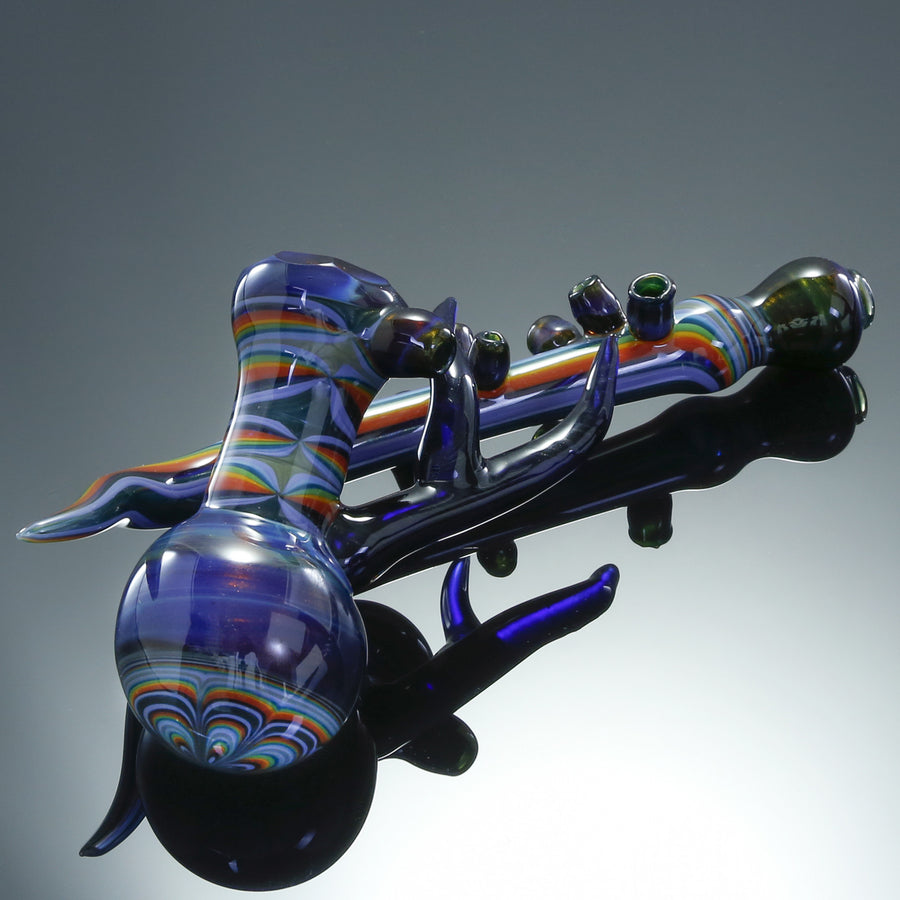 Hubbard Faceted Rainbow Sidecar Pipe