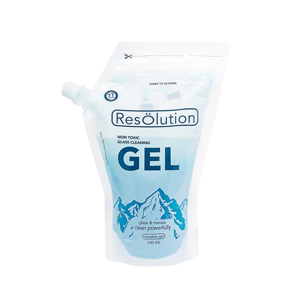 ResOlution Non Toxic Glass Cleaning Gel (240ml)