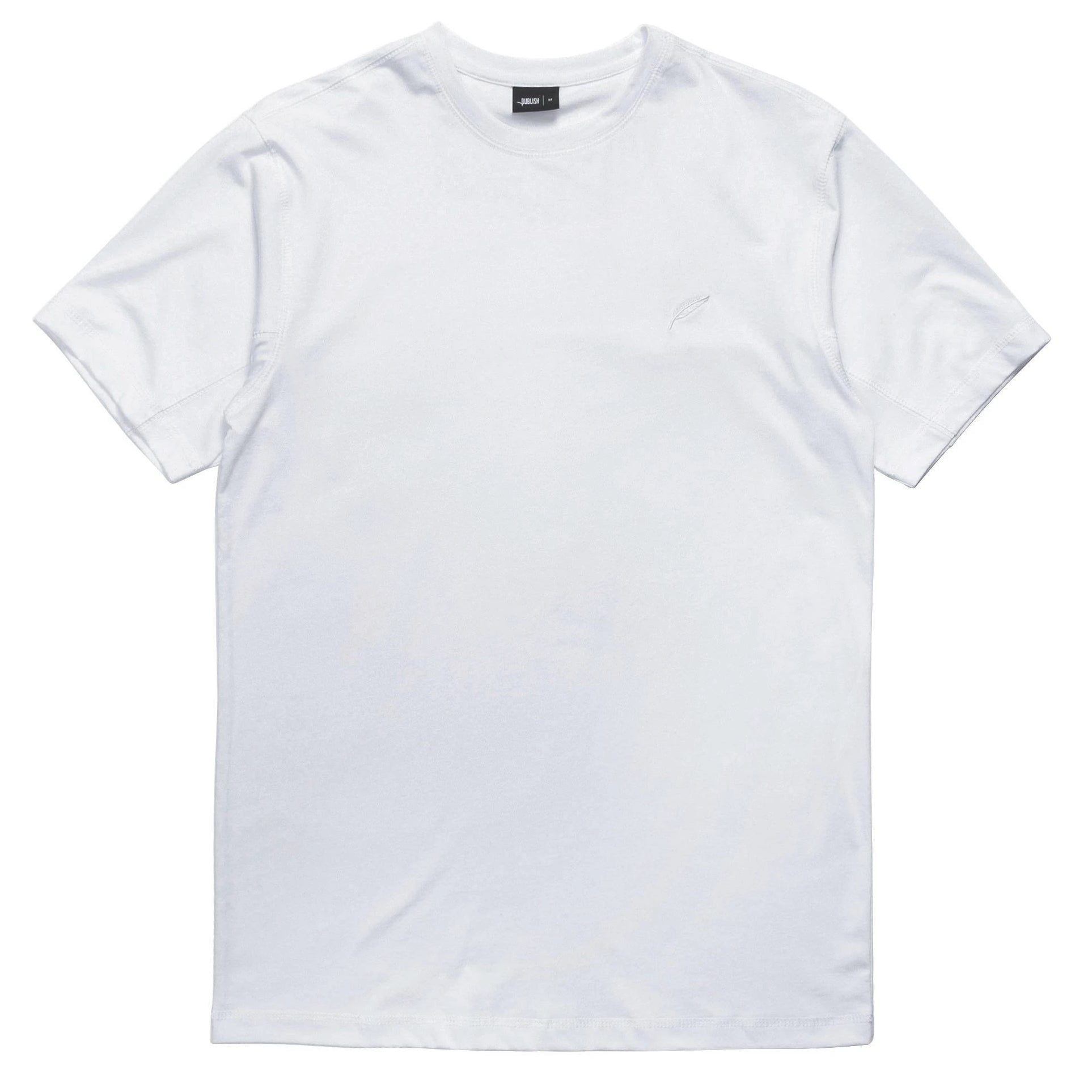 Index S/S Reverse Tee (White)