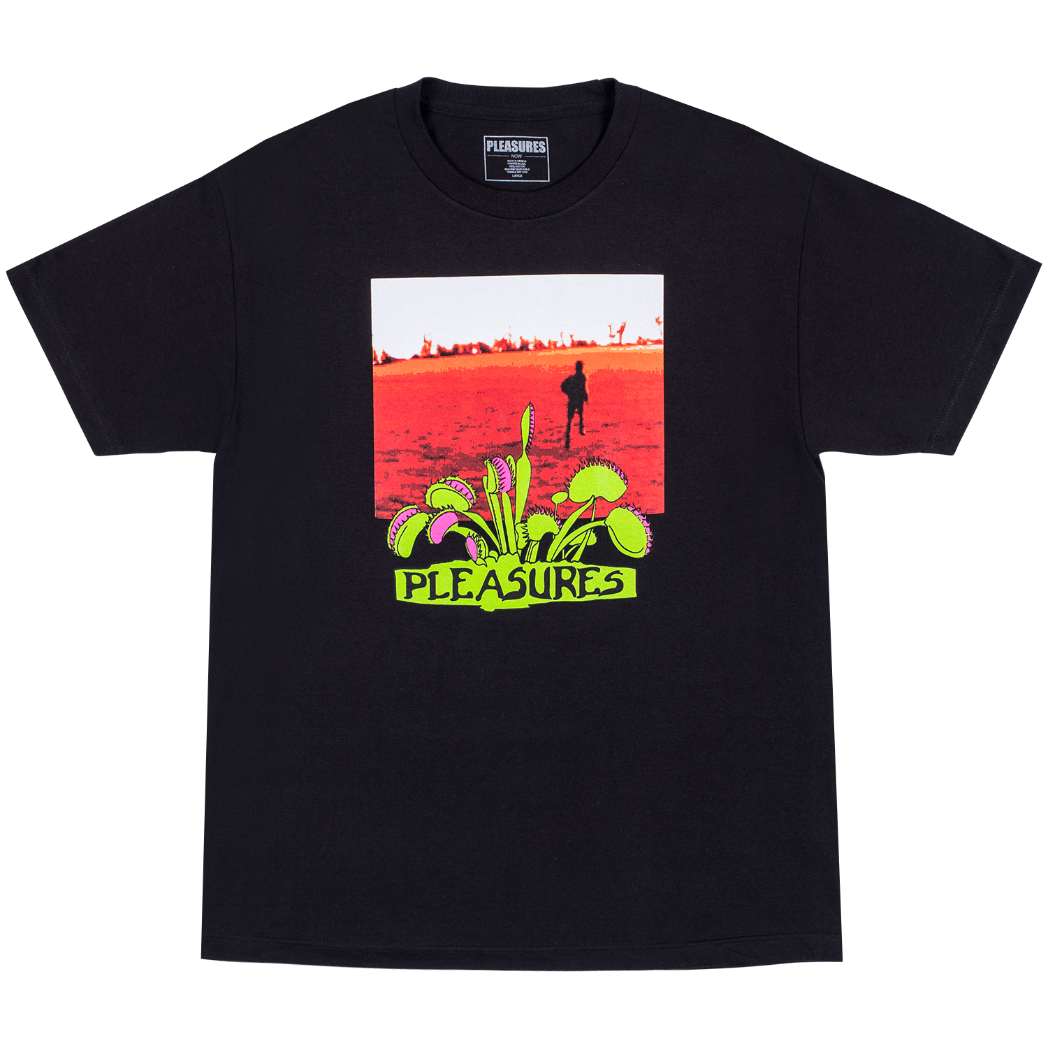 Pleasures Trapped T-Shirt (Black)