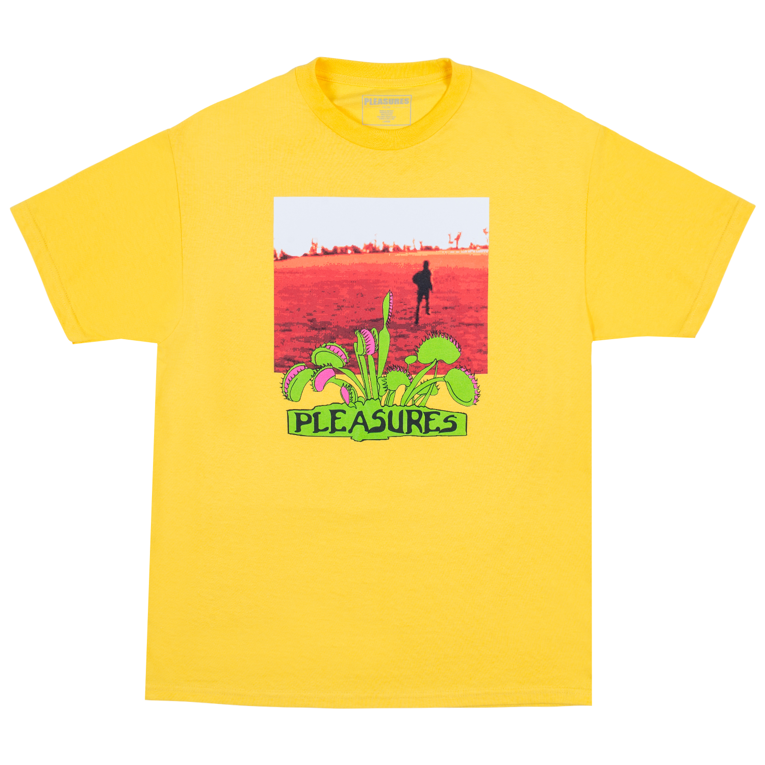 Pleasures Trapped T-Shirt (Yellow)