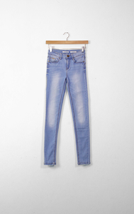 STRADIVARIUS light blue skinny jeans - 32