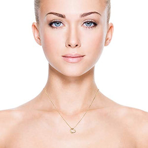 RAYMOND'S BOUTIQUE 14K Gold Rose Silver Plated Open Heart Floating Love Charm Pendant Necklace and Earrings Set with Adjustable Chain: Jewelry