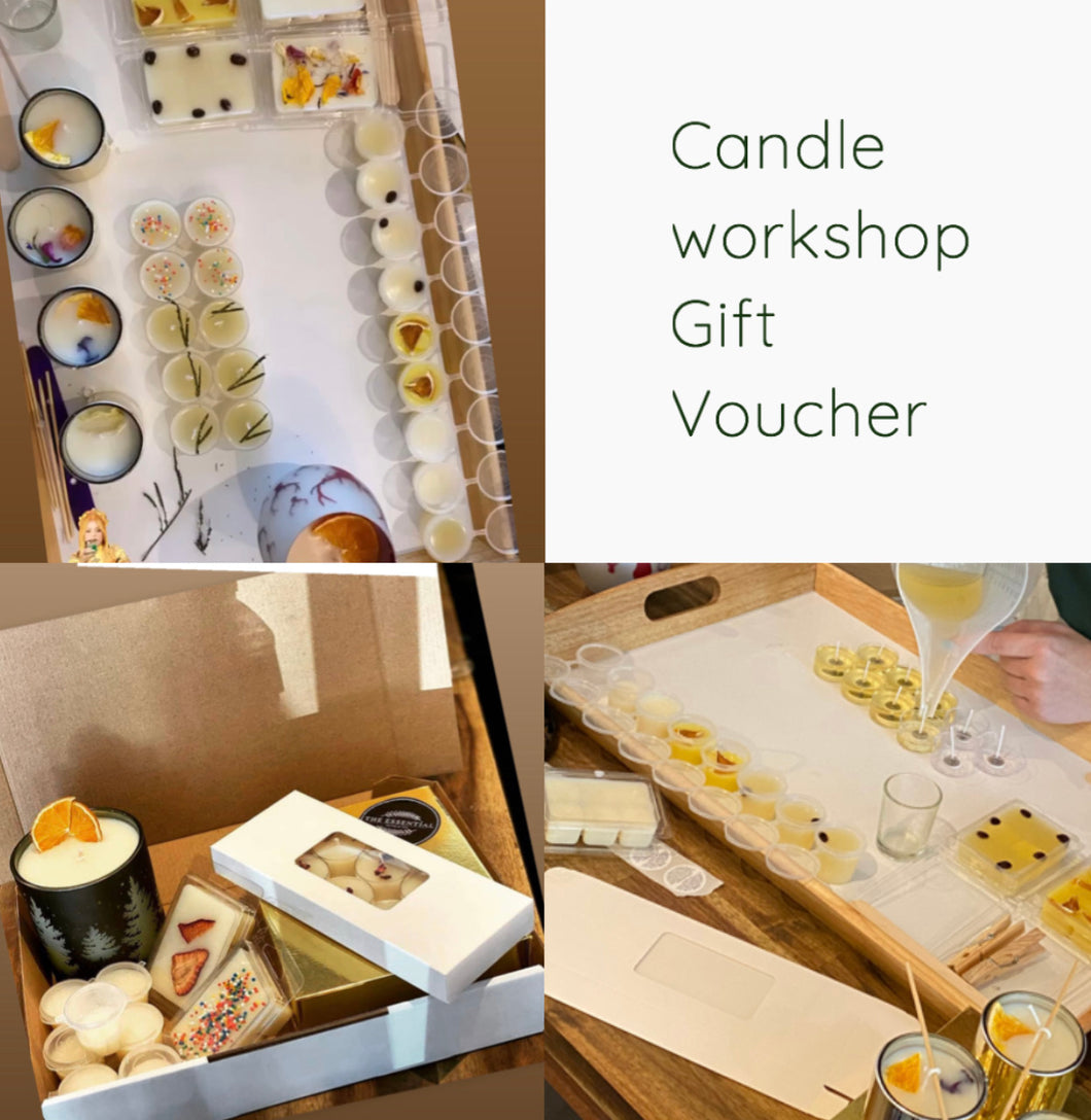 Gift voucher Candle workshop
