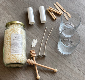 2 Container candle DIY kit