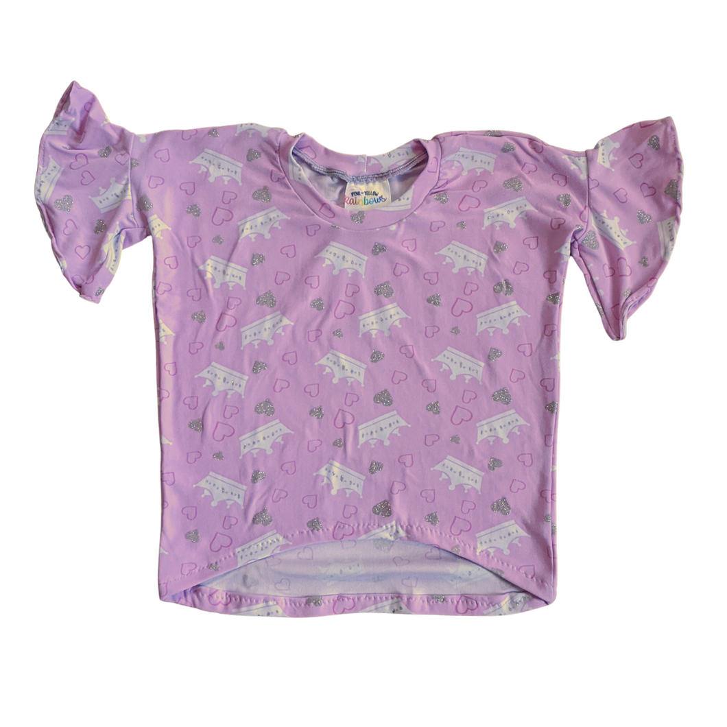 2T - Paige Piko - Pink Crowns (Ready to Ship)