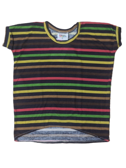 5T - Paige Piko - Multicolor Stripes (Ready to Ship)