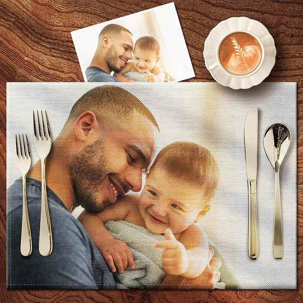 Custom Photo Placemat - Enjoy Dinner With Your Family - Child
