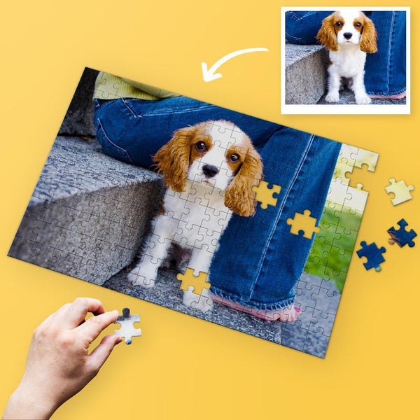 Custom Pet Dog Photo Jigsaw Puzzle - 35/150/300/500/1000 Pieces