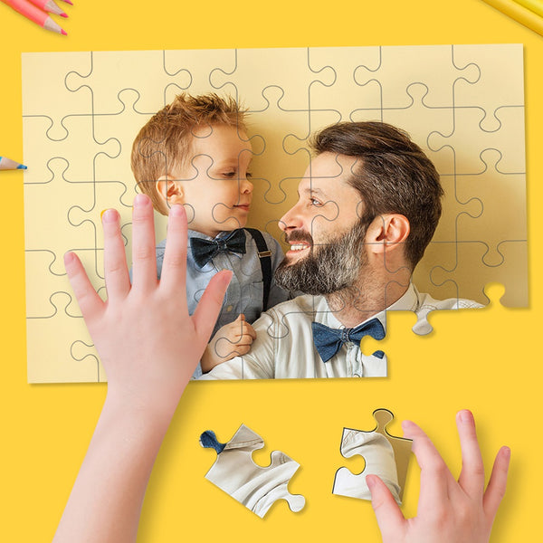 Custom Photo Jigsaw Puzzle - 35/150/300/500/1000 Pieces(Best Selling)