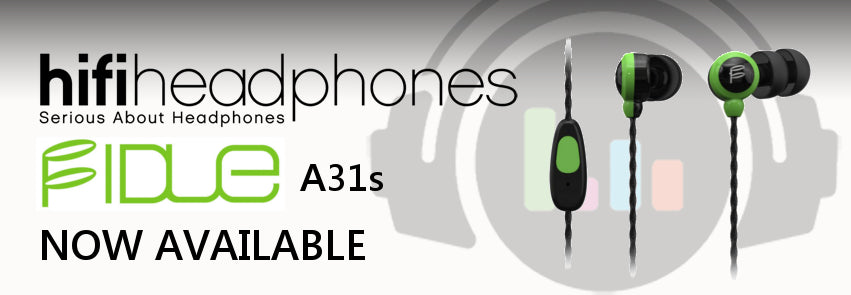 Fidue A31s In Ear Isolating Earphones with Mic