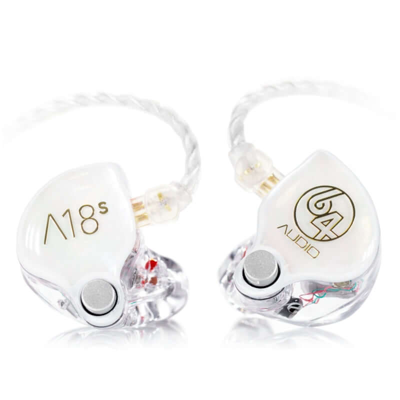 64 Audio A18s Eighteen Drivers Custom IEM Earphones