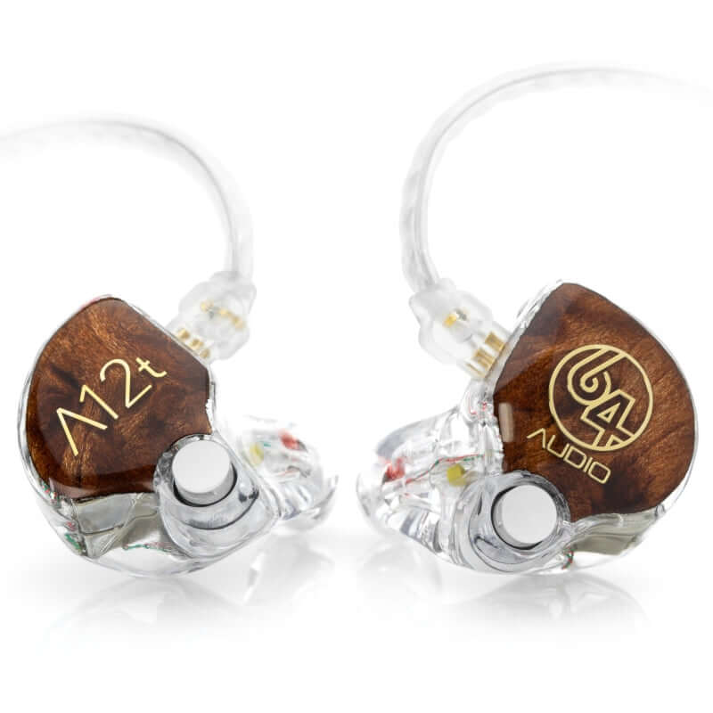 64 Audio A12t Twelve Drivers Custom IEM Earphones