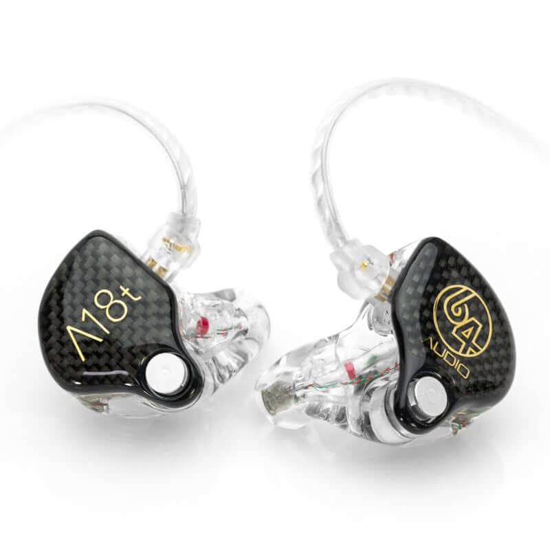 64 Audio A18t Eighteen Drivers Custom IEM Earphones