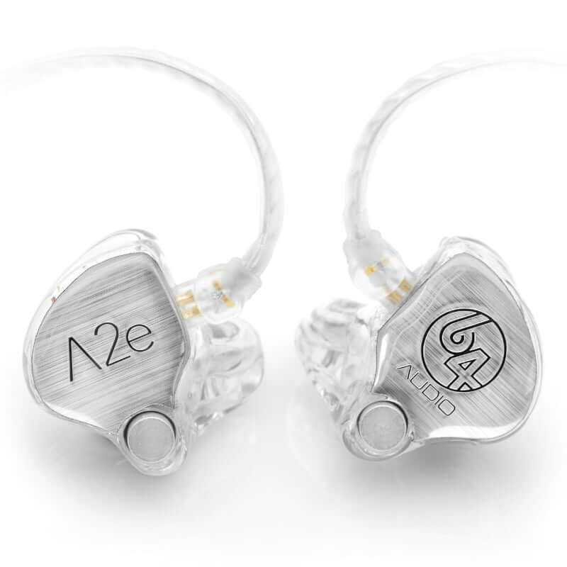 64 Audio A2e Dual Drivers Custom IEM Earphones