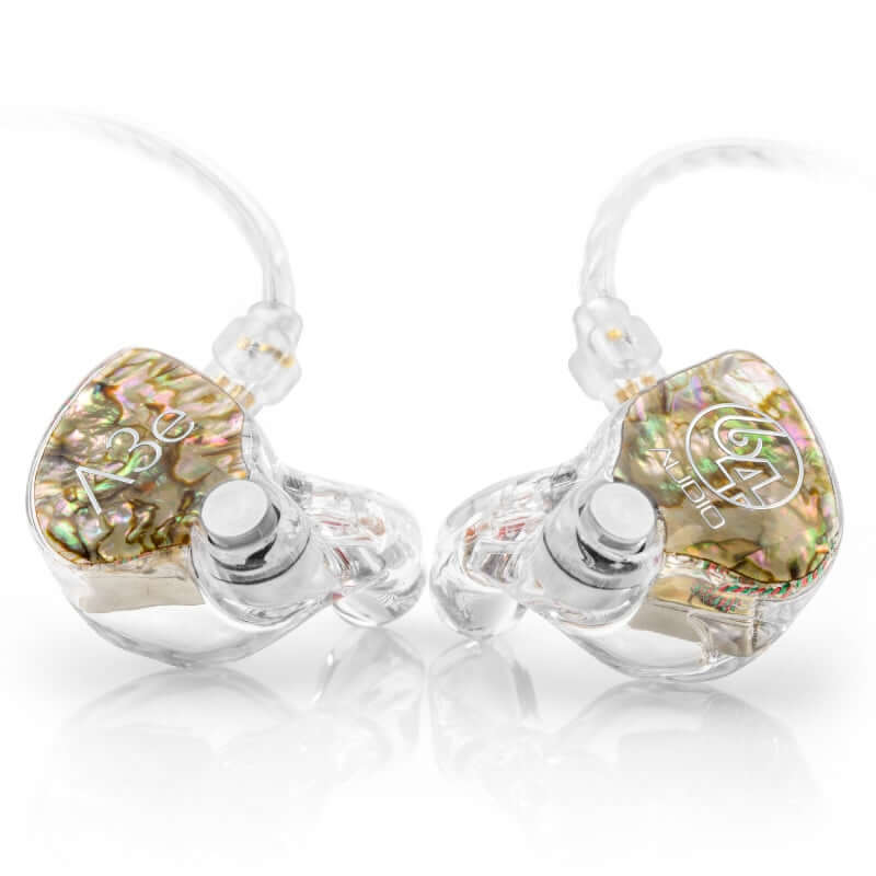 64 Audio A3e Triple Drivers Custom IEM Earphones