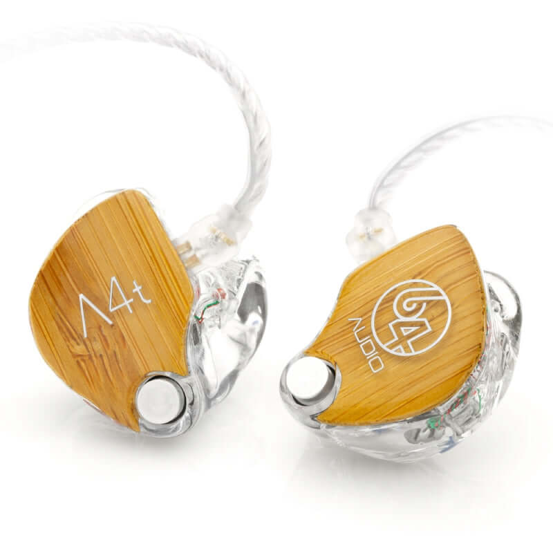 64 Audio A4t Four Drivers Custom IEM Earphones