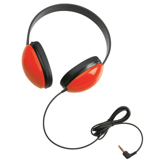 Concept Learning Educational Childrens Headphones - Red