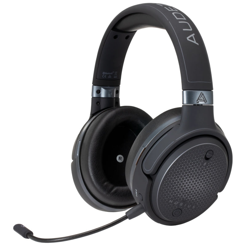 Audeze Mobius 3D Wireless Planar Magnetic Gaming Headphones - Carbon