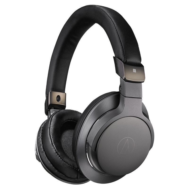 Audio-Technica ATH-AR5BT Wireless Headphones with Controls & Mic - Black - Refurbished