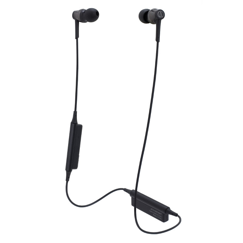 Audio-Technica ATH-CKR35BT In Ear Isolating Wireless Earphones with Controls & Mic - Black - Refurbished