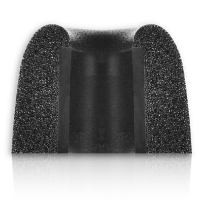 Blackbird SecureFit S20 Foam Eartips Black Mixed (S-M-L) - 3 Pairs