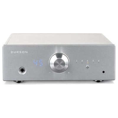 Burson Audio Conductor V2+ Headphone Amplifier, Pre-Amp & USB DAC - Silver - Open Box