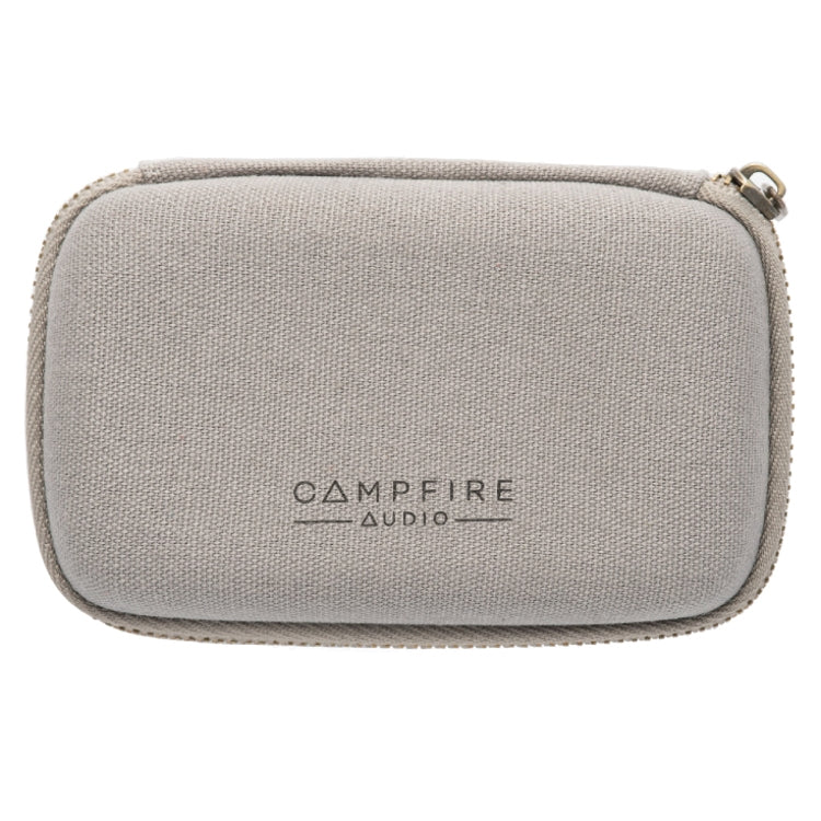 Campfire Audio Canvas Earphone Case - Grey