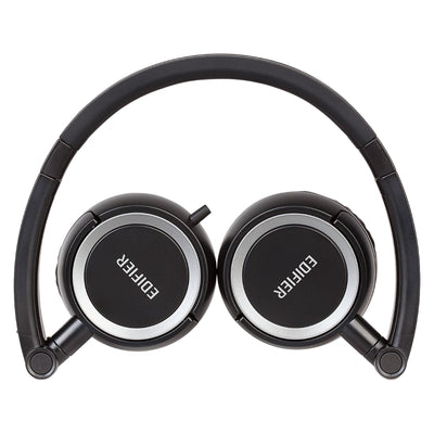 Edifier P650 Portable Headphones with Smartphone Controls & Mic - Black - Refurbished