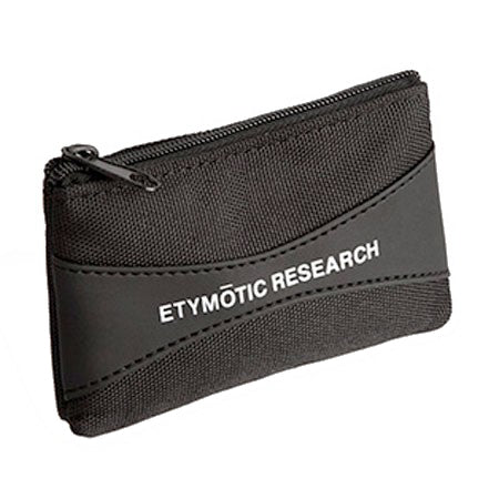 Etymotic ER38-65MC Black Earphone Storage Pouch