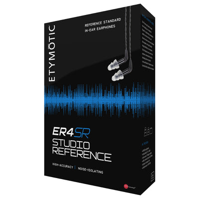 Etymotic ER4-SR Studio Reference In Ear Isolating Earphones with Replaceable Cable