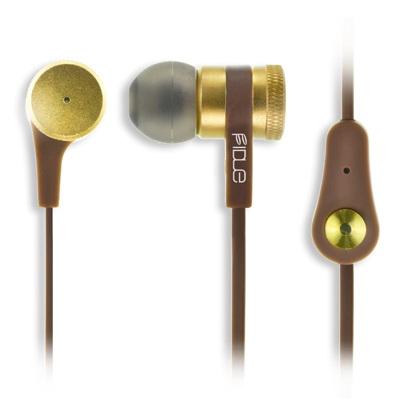 FIDUE A33 In Ear Isolating Earphones with Smartphone Controls & Mic - Refurbished