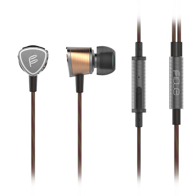 FIDUE A65 IEM Earphones with Controls & Mic - Refurbished