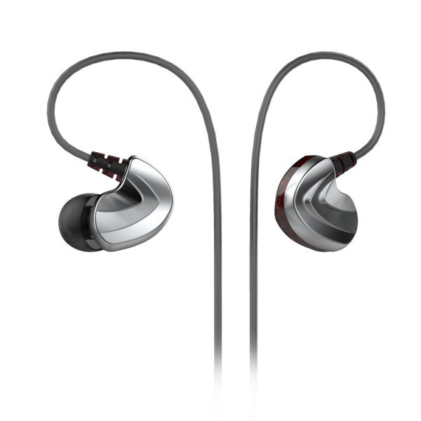 FIDUE A73 Dual Drivers IEM Earphones with Smartphone Controls & Mic - Refurbished