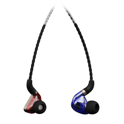 FIDUE A83 Triple Drivers IEM Earphones with Replaceable Cable - Refurbished